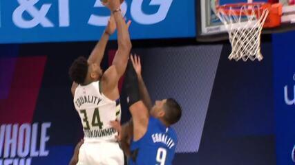 Melhores momentos: Orlando Magic 122 x 110 Milwaukee Bucks pela NBA