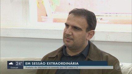 Câmara de Vereadores cassa o mandato de prefeito de Julbert Ferre em Machado