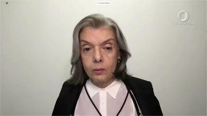 Cármen Lúcia vota pela suspensão da produção de relatórios pelo Ministério da Justiça