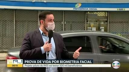 Tecnologia da biometria facial será testada pelo INSS para a prova de vida