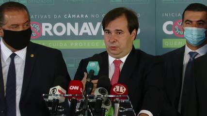 'Melhor para o Brasil é a manutenção do veto', diz Rodrigo Maia