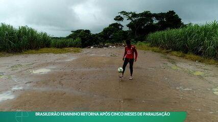 Salário reduzidos e treinos improvisados: Brasileirão feminino se prepara para voltar após cinco meses de paralisação