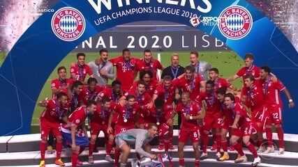 Bayern de Munique vence o Paris Saint-Germain e é o campeão da Champions League