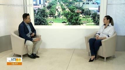 Prefeita de Palmas fala sobre as medidas contra a Covid-19 na capital
