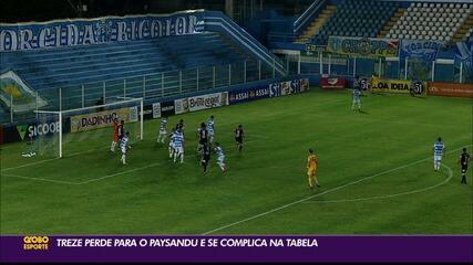 Confira a reportagem da vitória do Paysandu sobre o Treze, válida pela rodada #2 da Série C.