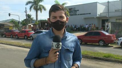 Em Cruzeiro do Sul, moradores fazem manifestação contra aumento no preço do combustível
