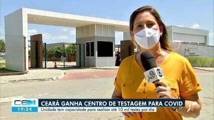 Unidade da FioCruz no Ceará vai realizar 100 mil testes da covid-19 por dia