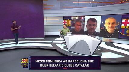 Bomba! Messi comunica diretoria do Barcelona que deseja sair do clube