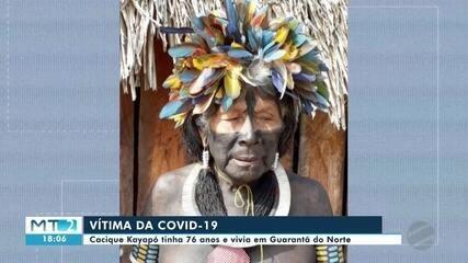 Cacique da etnia kaiapó morre por Covid no norte de MT