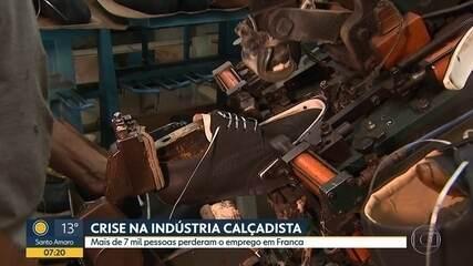 Crise na indústria calçadista