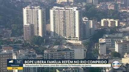 Moradora relata momentos de desespero durante sequestro em prédio no Rio Comprido