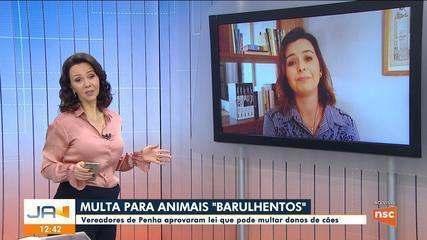 Vereadores de Penha aprovam lei que pode multar tutores de cães