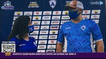 Atlético de Cajazeiras procura adversário para fazer amistoso antes da estreia na Série D