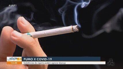 Fumo x Covid-19: substâncias no cigarro podem agravar doença