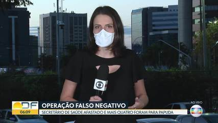 Presos da operação Falso Negativo foram transferidos para Papuda um dia antes do previsto