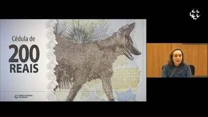 Banco Central apresenta nota de R$ 200, com imagem do logo-guará