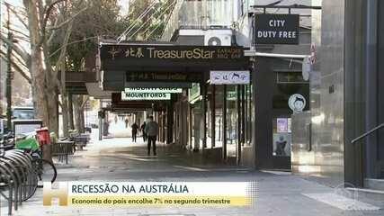 Austrália entra em recessão pela primeira vez em 30 anos