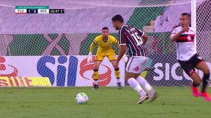 Melhores momentos: Fluminense 1 x 1 Atlético-GO pela 7ª rodada do Brasileirão 2020