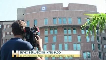 Silvio Berlusconi é internado com COVID-19