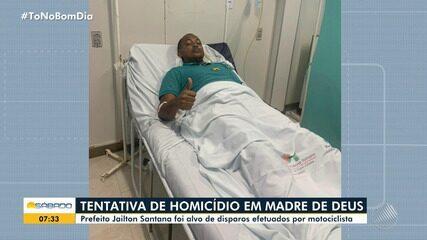 Prefeito de cidade na Bahia é alvo de ataque a tiros na porta de casa |  Bahia | G1