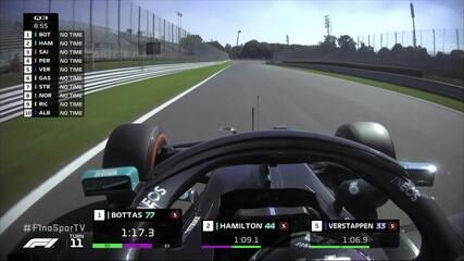 Bottas e Hamilton seguem na liderança do Q3 do GP da Itália