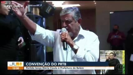 PRTB lança Mário Couto candidato à Prefeitura de Belém