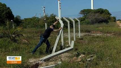 Área de preservação ambiental na Barra dos Coqueiros é fiscalizada