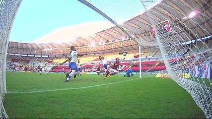 Melhores momentos de Flamengo 2 x 1 Fortaleza pela 8ª rodada do Campeonato Brasileiro