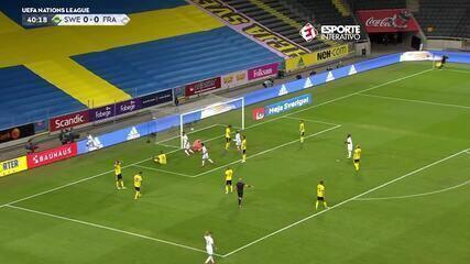 Veja o golaço de Mbappé contra a Suécia pela Liga das Nações