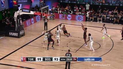 Melhores momentos: Boston Celtics 93 x 100 Toronto Raptors, pela NBA