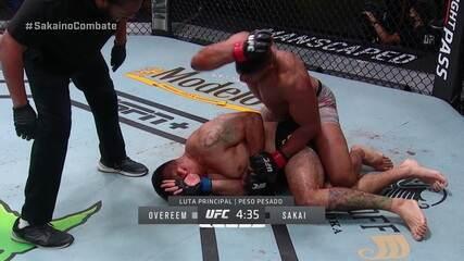 Melhores momentos: Alistair Overeem x Augusto Sakai, por UFC Overeem x Sakai