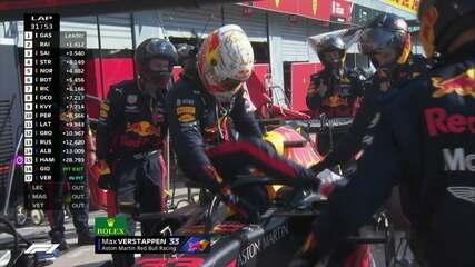 GP da Itália: Verstappen abandona a prova