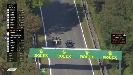 GP da Itália: Hamilton ultrapassa Raikkonen