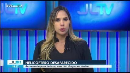 Helicóptero com policiais militares desaparece no sudoeste do Pará