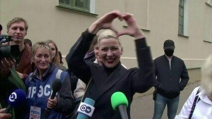 Maria Kolesnikova, uma das principais opositoras do governo de Belarus, está desaparecida