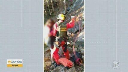 Adolescente morre ao cair de cachoeira com a mãe em Pedralva, MG