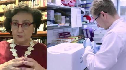 Caso de mielite transversa em voluntário parou os testes, diz Margareth Dalcolmo