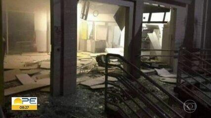 Agência do Banco Brasil é alvo de bandidos em Afrânio, no Sertão