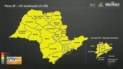 Ribeirão Preto e Franca estão na fase amarela do Plano São Paulo