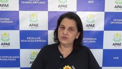 Luci de Paula afirma que o Dia Nacional de Luta da Pessoa com Deficiência proporciona reflexões. Vídeo: Arquivo pessoal
