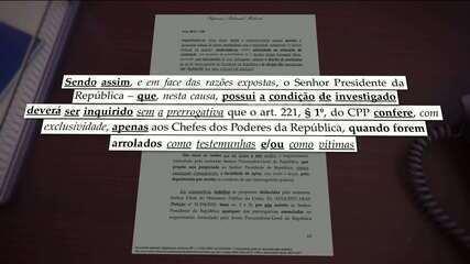'Presidente é súdito das leis como qualquer cidadão do país', diz Celso de Mello