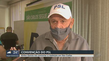 PSL oficializa prefeito de São Carlos, Airton Garcia, como candidato à reeleição