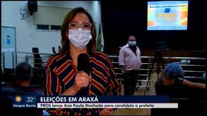 PROS lança Ana Paula Machado para candidata à Prefeita de Araxá