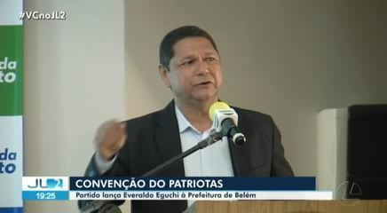 Partido Patriotas lança Everaldo Eguchi como candidato à prefeitura de Belém