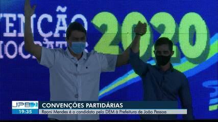 Democratas oficializa a candidatura de Raoni Mendes à Prefeitura de João Pessoa