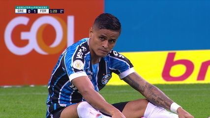 Melhores Momentos: Grêmio 1 x 1 Fortaleza pela 10ª rodada do Brasileirão