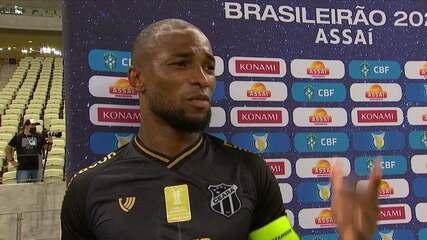"""Autor de um dos gols, Luiz Otávio fala sobre desentendimento com companheiro: """"É meu companheiro de quarto!"""""""