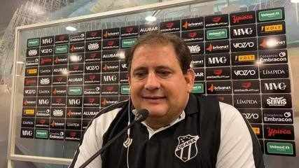 Confira a coletiva de Guto Ferreira após vitória do Ceará sobre o Flamengo no domingo (13)