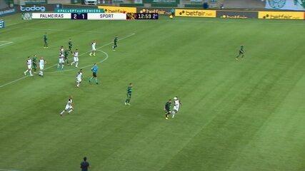 Zé Rafael leva segundo amarelo e é expulso, aos 13 do 2º tempo