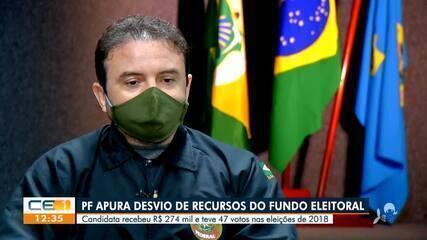 Candidata é investigada pela Polícia Federal por receber R$ 274 mil em fundo eleitoral
